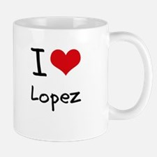 I Love Lopez Mug