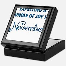Expecting a bundle of joy in November Keepsake Box