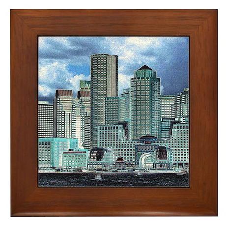 Fantastic Boston Framed Tile