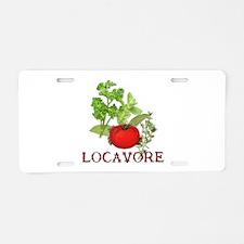 Be A Locavore Aluminum License Plate