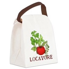 Be A Locavore Canvas Lunch Bag
