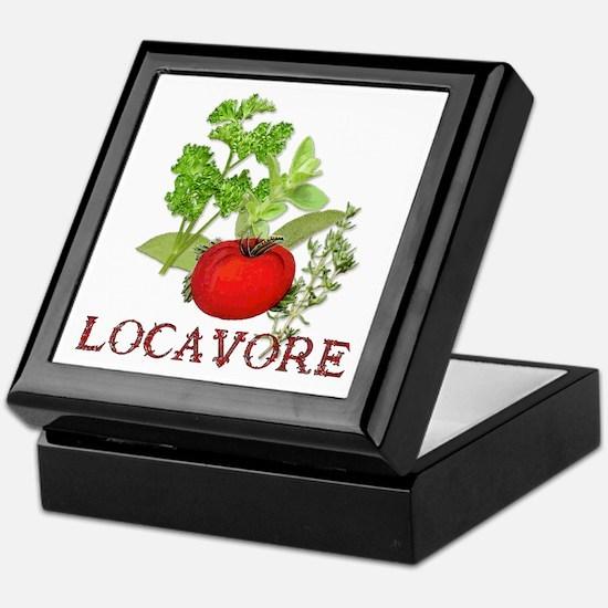 Be A Locavore Keepsake Box