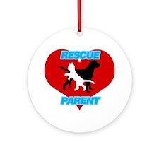Rescue Parent Ornament (Round)