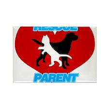 Rescue Parent Rectangle Magnet
