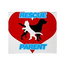 Rescue Parent Throw Blanket