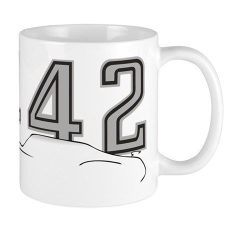 Cutlass Silhouette - 442 logo up Mug