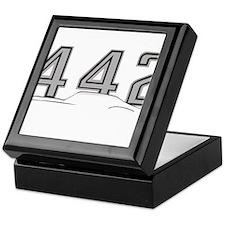 Cutlass Silhouette - 442 logo up Keepsake Box