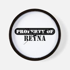 Property of Reva Wall Clock