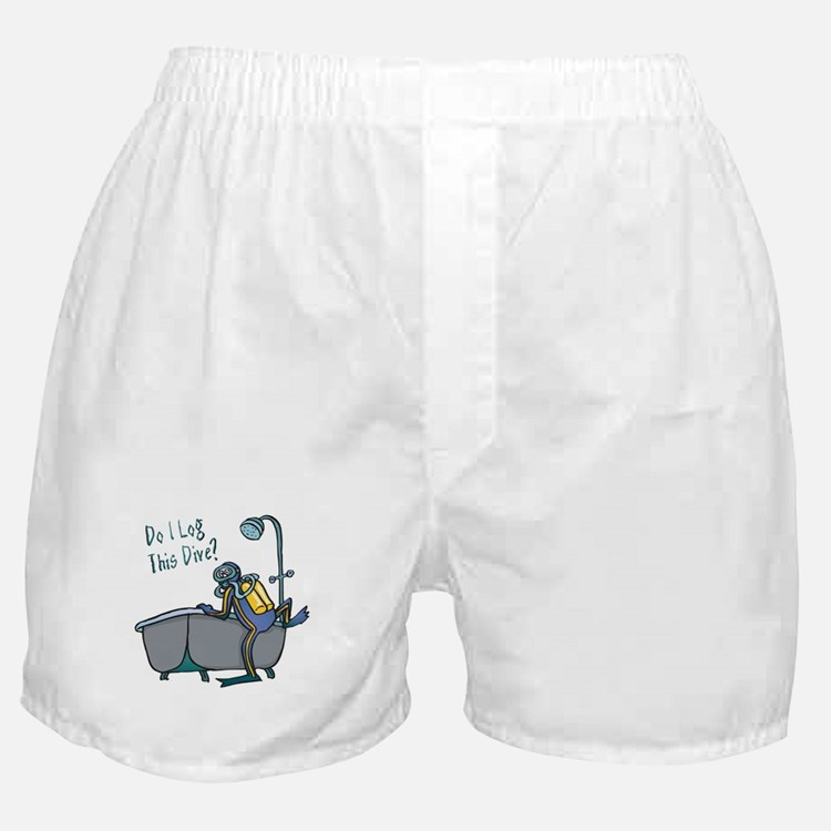 Do I Log This Dive? Boxer Shorts