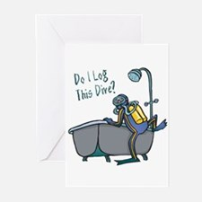 Do I Log This Dive? Greeting Cards (Pk of 10)