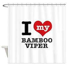 I love my Bamboo Viper Shower Curtain