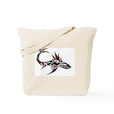 Tribal Shark Tote Bag
