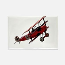 The Red Baron Rectangle Magnet
