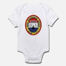 USS Newport News SSN 750 Infant Bodysuit