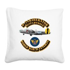 AAC - B-24 - 8 AF Square Canvas Pillow