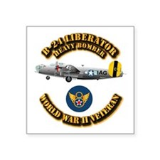 "AAC - B-24 - 8 AF Square Sticker 3"" x 3"""