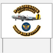 AAC - B-24 - 8 AF Yard Sign