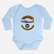 AAC - B-24 - 8 AF Long Sleeve Infant Bodysuit