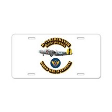 AAC - B-24 - 8 AF Aluminum License Plate