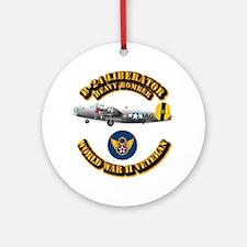 AAC - B-24 - 8 AF Ornament (Round)