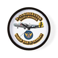 AAC - B-24 - 8 AF Wall Clock