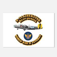 AAC - B-24 - 8 AF Postcards (Package of 8)