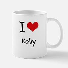 I Love Kelly Mug