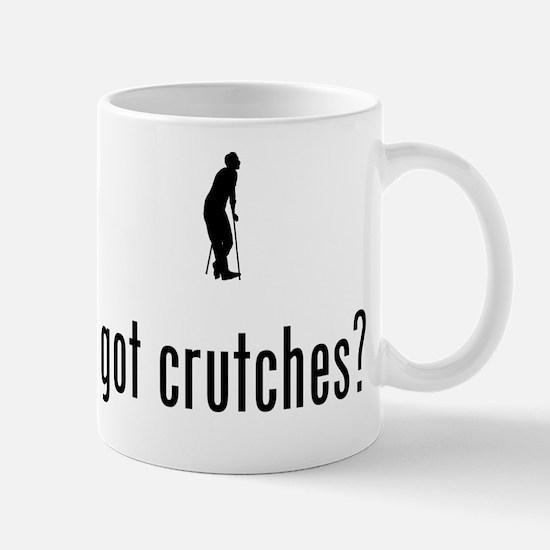 On Crutches Mug