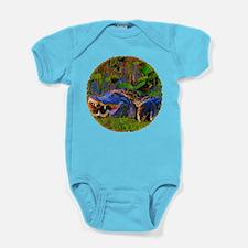 Everglades Alligator and Snake Baby Bodysuit
