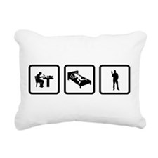 Peace Rectangular Canvas Pillow