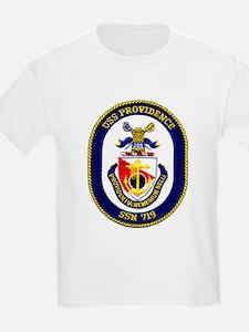 USS Providence SSN 719 Kids T-Shirt