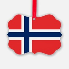 Flag of Norway Ornament