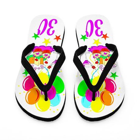 CHIC 30TH Flip Flops