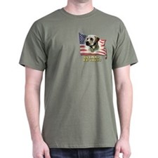 IN DOG WE TRUST (YELLOW LAB) T-Shirt