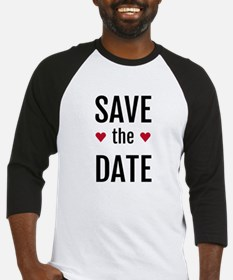 Save The Date Long Sleeves Shirts Raglans 3 4 Sleeves