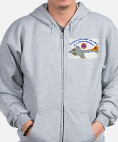 USAAF - B-17 Flying Fortress Zip Hoodie