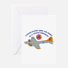 USAAF - B-17 Flying Fortress Greeting Card
