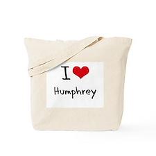 I Love Humphrey Tote Bag