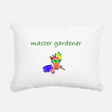 master gardener.bmp Rectangular Canvas Pillow