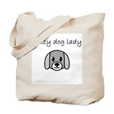 crazy dog lady.PNG Tote Bag