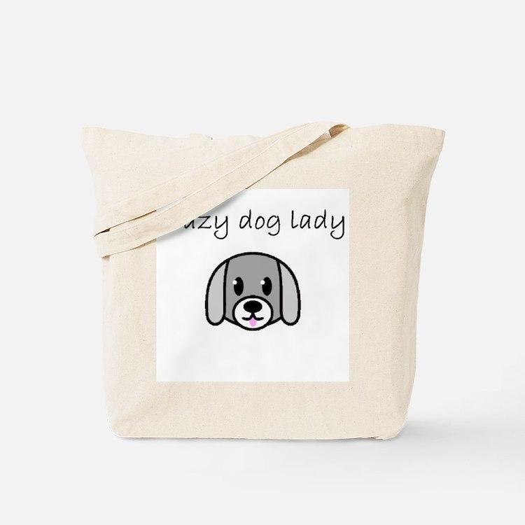crazy dog lady.PNG Tote Bag