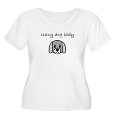 crazy dog lady.PNG Plus Size T-Shirt