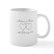 Mathew & Bianca wedding date Mug