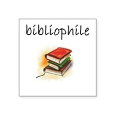 bibliophile.JPG Sticker