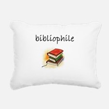 bibliophile.JPG Rectangular Canvas Pillow