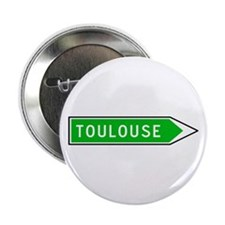 Roadmarker Toulouse - France Button