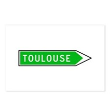 Roadmarker Toulouse - France Postcards (Package of