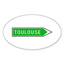 Roadmarker Toulouse - France Oval Decal