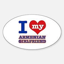 I love my Armenian Girlfriend Decal