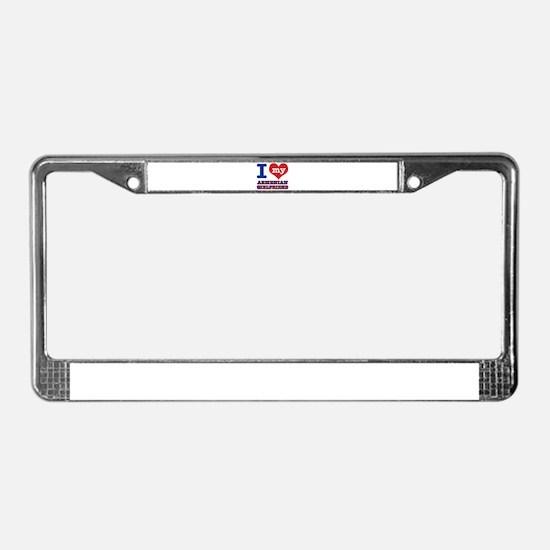 I love my Armenian Girlfriend License Plate Frame